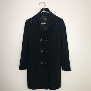 Jcrew peacoat double breasted coat